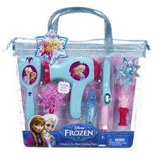 Set de coafura Printese Disney cu uscator de par functional Frozen