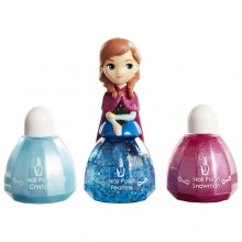 LK Set machiaj Frozen seria 2 Anna Nail Polish mov- Jakks Pacific