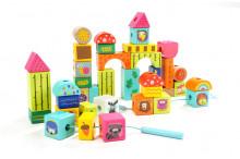 Cuburi pentru construit - Animalute din jungla