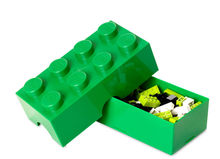 Cutie sandwich LEGO 2x4 verde inchis (40231734)