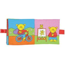 Large Soft Book: Carticica moale Teddy's Day