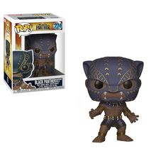 POP BOBBLE: MARVEL: BLACK PANTHER: BLACK PANTHER WARRIOR FALLS