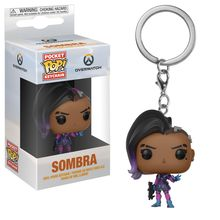 POP KEYCHAIN OVERWATCH - SOMBRA