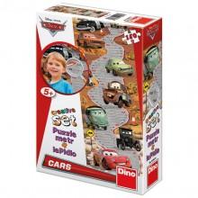 Puzzle cu masuratoare - Cars (150 piese)