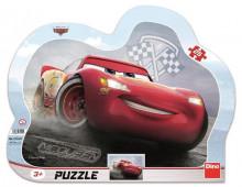Puzzle cu rama - Cars 3: Fulger McQueen (25 piese)