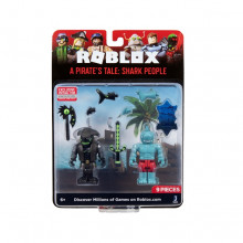 ROBLOX 2 FIGURINE S7 - A PIRATES TALE SHARK PEOPLE
