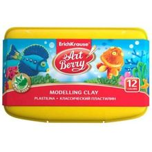 Set modelaj cu aloe vera - 12 culori