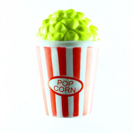 Jucarie Squishy parfumata, Pahar Popcorn, cu revenire lenta, Multicolor