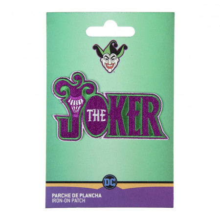 Patch Brodat Batman The Jocker, 8 x 5 cm