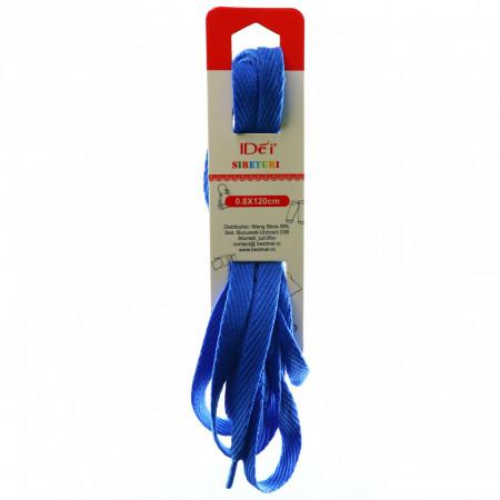 Sireturi colorate 0.8 x 120 cm, Albastru