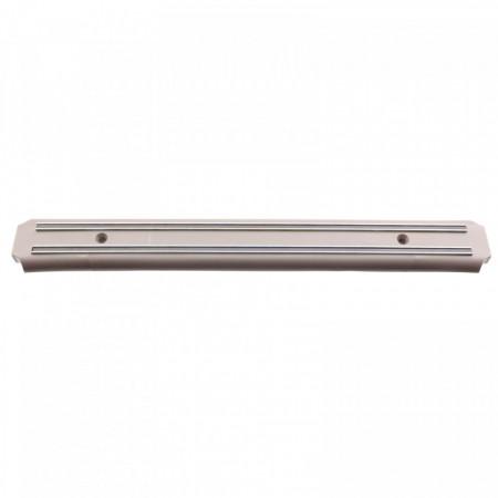 Suport din magnet pentru cutite de bucatarie, cu prindere in perete, 38 x 4.5 cm, Gri