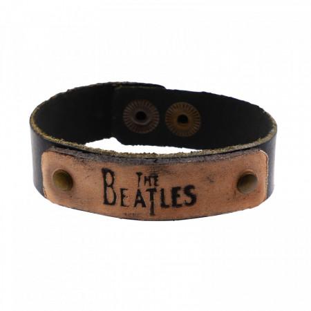 Bratara din piele, The Beatles, 20 x 1,7 cm