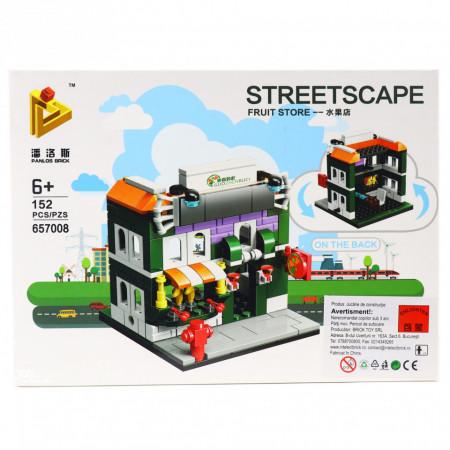Set de constructie Lego, Magazin de fructe, 152 piese