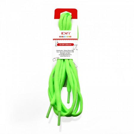 Sireturi, Verde Neon, 0.6 x 120 cm