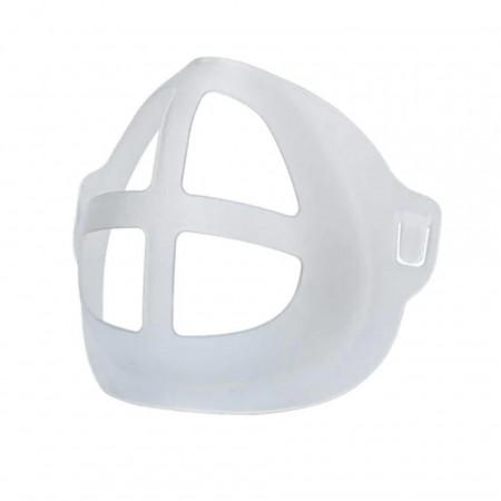 Suport interior pentru masca de protectie, ajutor pentru respiratie, plastic, Alb