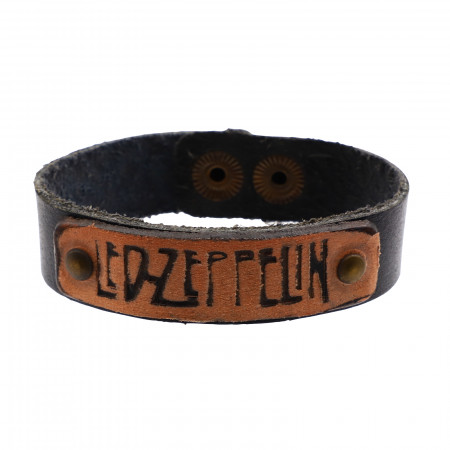 Bratara din piele, Led Zeppelin, 20 x 1,7 cm