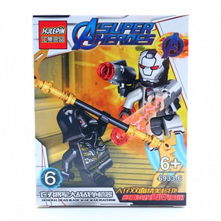 Generalul Dead Blade in razboi cu War machine, Figurina