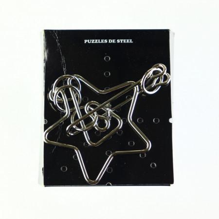 Joc puzzle metal, logic, 26-6