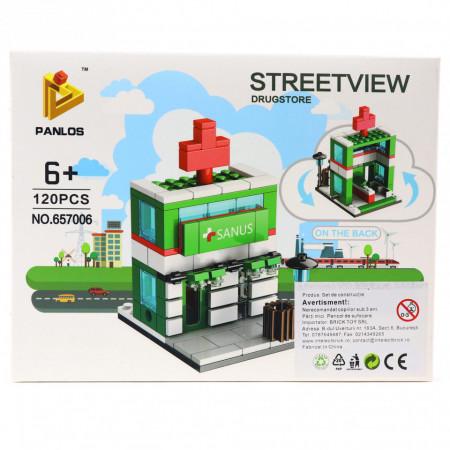 Set de constructie Lego, Farmacie, 120 piese
