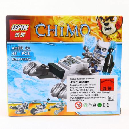 Set de constructie Lego, Luptatorul de gheata, 45 piese