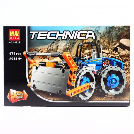 Set de constructie technic Buldozer, 171 piese