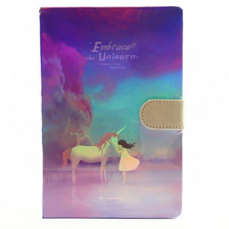 Agenda Embrace the Unicorn, 13 x 19 cm, 244 file, Mov