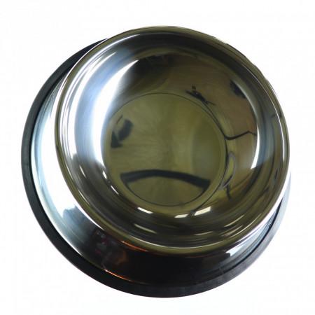 Bol pentru caini sau pisici, din inox, 26cm