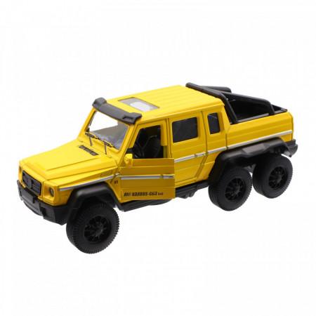 Masinuta diecast, Hummer Bureko 6x6 cu baterie, sunet si lumini, 1:32