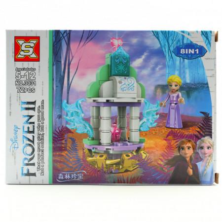 Set de constructie, Elsa si diamantul roz, 72 piese