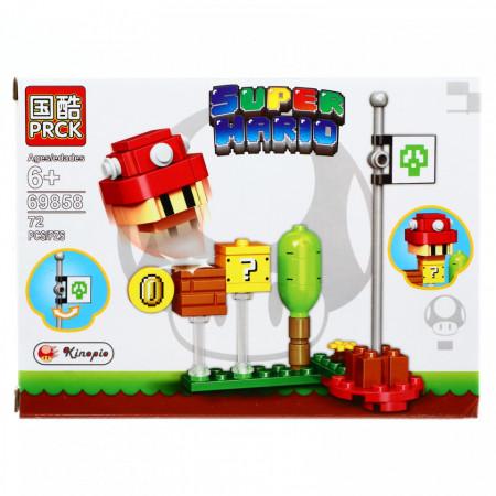 Set de constructie, Super Mario, Kinopio, 72 piese