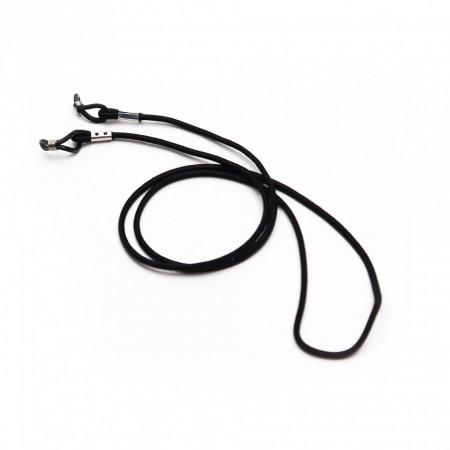 Snur pentru ochelari, Negru, 67 cm
