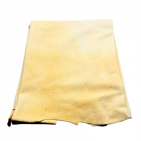 Laveta din piele de oaie pentru masina 40x50 cm, Bej