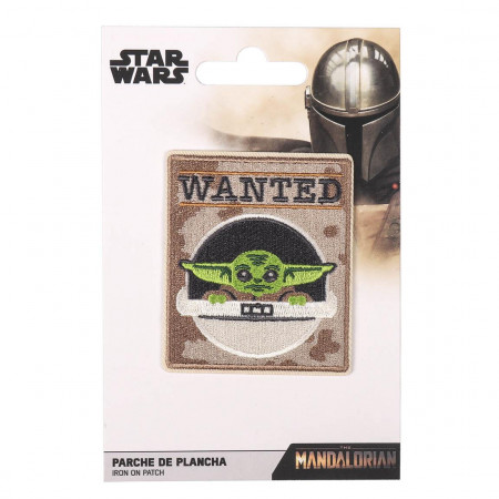 Patch brodat, The Mandalorian Wanted, Star Wars, 7 x 6 cm