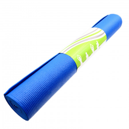 Saltea Yoga, 3 mm, 61x173 cm, Albastru