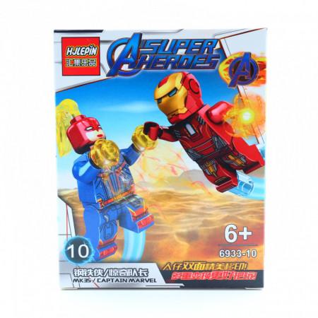 Mk 35 in razboi cu Captain Marvel, Figurina