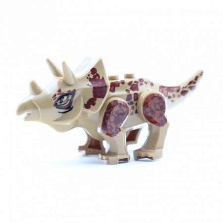 Set de constructie dinozauri, Triceratops