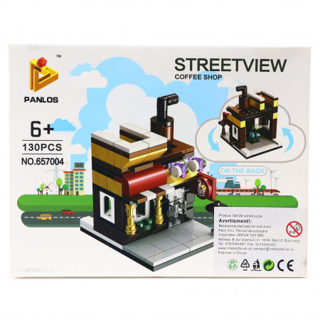 Set de constructie Lego, Cafenea, 130 piese