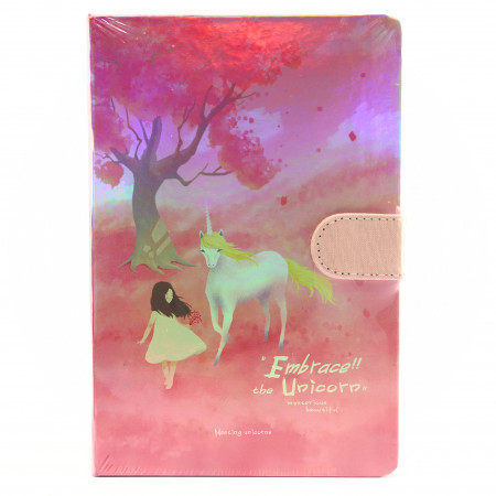 Agenda Embrace the Unicorn, 13 x 19 cm, 244 file, Roz