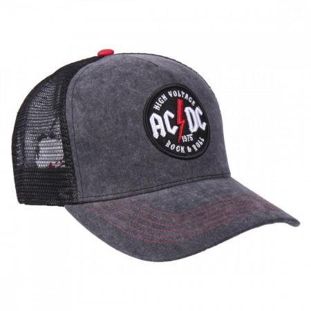 Sapca AC / DC cu logo brodat, 58 cm