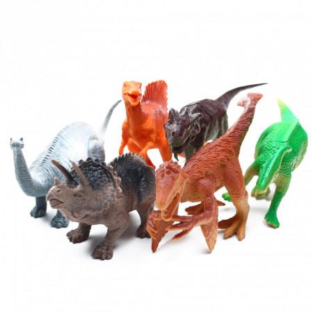 Set 6 dinozauri, Multicolor, 6 piese