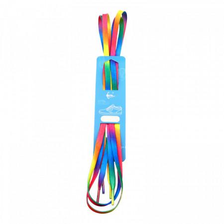 Sireturi, Multicolor / Rainbow , 0.8 x 120 cm