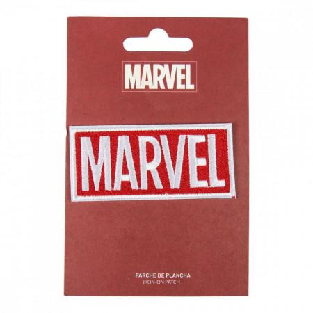 Patch brodat Marvel, 8.5 x 4 cm