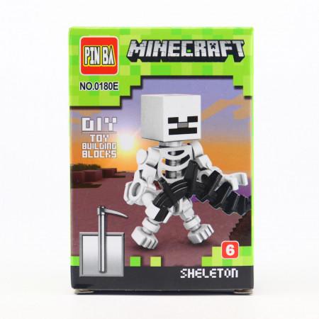 Set de constructie Lego, Skeleton Creeper, Figurina