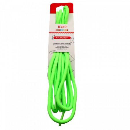 Sireturi, Verde Neon, 0.4 x 120 cm