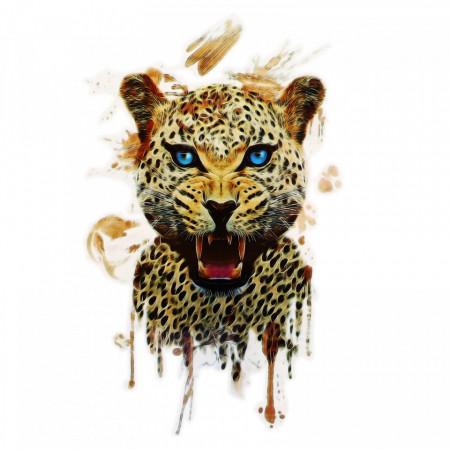 Tatuaj temporar, Baby Jaguar, GF950, 15 x 9