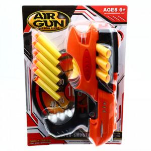Arma de jucarie Nerf, Mission alert, 6 gloante incluse, 24 cm