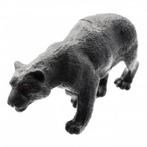 Figurina animal salbatic, Pantera Neagra, 10 cm