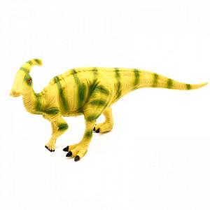 Figurina dinozaur, Parasaurolophus cu sunet reprodus dupa dinozaurul real, 23 cm