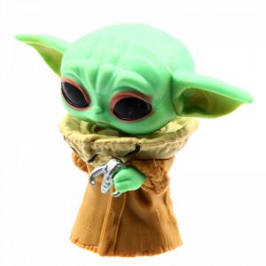 Figurina POP! Star Wars - Mandalorin, Baby Yoda, YD-1