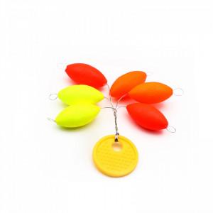 Set 6 opritori pescuit, Multicolor